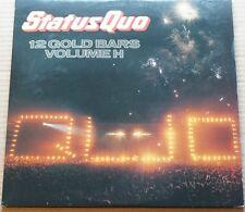 Rare Status Quo 12 Gold Bars Volumes 1 and 2 Gatefold on Vertigo Mint Discs