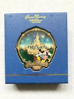 Shanghai Disney Grand Opening Mickey Mouse Minnie Mouse Castle LE800 Jumbo Pin
