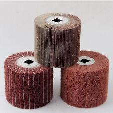 120x100mm Mixed Abrasive Cloth Grinding Wheel & Non-Woven Polishing Flap Wheel