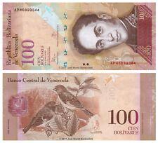 Venezuela 100 Bolivares 2013 P-93g Banknotes UNC