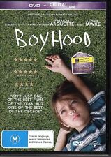 BOYHOOD - DVD R4 (2015) Patricia Arquette Ethan Hawke LIKE NEW - FREE POST