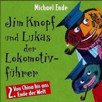 MICHAEL ENDE - JIM KNOPF UND LUKAS DER LOKOMOTIVFÜHRER, TEIL 2; CD 8 TRACKS NEU