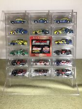 DALE EARNHARDT Action RCCA Club 16 CAR SET IN Acrylic Displasy CASE 1/64 Nascar