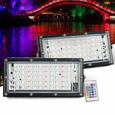 50W Led Flood Light Outdoor Garden Floodlight LED Spotlight RGB White 110V 220V