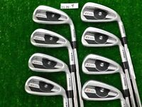 PING G400 Irons 4-W & U AWT 2.0 Regular Steel Black Dot New