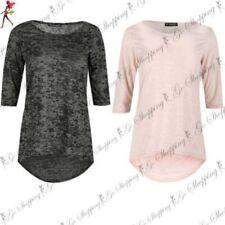Camisas y tops de mujer Camiseta corta de poliéster