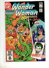 Wonder Woman #281 Joker v Huntress Batman'S Daughter! Birds of Prey 1981 Vf+ 8.5