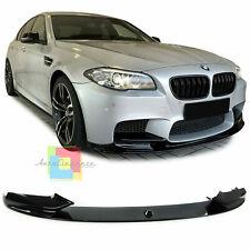BMW F10 e M5 Saloon 4 ANTE avvio tronco Spoiler Lip Gloss Nero in Plastica ABS UK