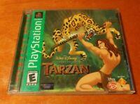 Disney's Tarzan Sony PlayStation 1 PS1 Walt Disney Interactive , Eurocom