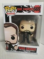 A7=Funko POP! Movies - Die Hard Vinyl Figure - HANS GRUBER #669 - New in Box