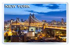 NEW YORK QUEENSBORO BRIDGE MOD3 FRIDGE MAGNET SOUVENIR IMAN NEVERA