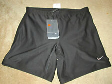 NWT Women's Nike Pro Dri-Fit Black Yoga Running Work Out Gym Shorts Size M 8-10