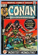 Vintage - Marvel Comics Group - Conan The Barbarian - Vol. 1, No. 21 - Dec. 1972
