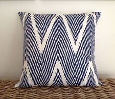 Hamptons Cushion Cover To Fit A 50cm Sq Fill.