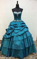 NEW Mori Lee Vizcaya Quinceanera XV Sweet Dress Ball Gown 88025 Sapphire 2 Piece
