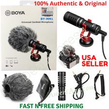 BOYA BY-MM1 Universal Cardioid Shotgun Microphone > Nikon Canon DSLR SmartPhones