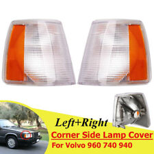 Front Parking Corner Light Signal Driving Lamp Cap Cover For Volvo 740 940 960