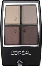 L'OREAL* Studio Secrets WEAR INFINITE Eye Shadow QUAD New Style *YOU CHOOSE* 1/2