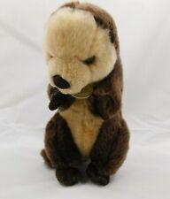 """Miyoni Aurora World 10"""" Standing Sea Otter Plush Stuffed Animal"""