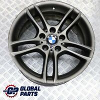 "BMW E81 E87 Grey Rear Alloy Wheel Rim 18"" 8,5J ET:52 M Double Spoke 261 7842608"