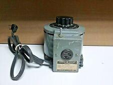GENERAL ELECTRIC 9T92A89 VARIAC VARIABLE TRANSFORMER 120V 50/60 HZ 0-140V 18A