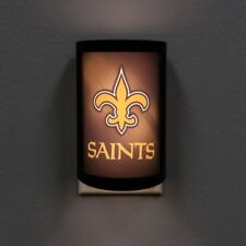 New Orleans Saints Night Light Light Sensing