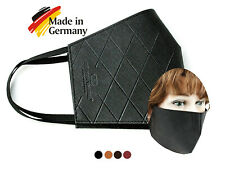 Wiederverwendbare Mund-Nasen-Maske Saffiano - Mundbedeckung aus Deutschland