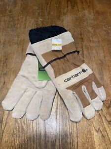 Carhartt Mens Gloves Size XL Work, Lawn and Garden with Extended Cuff New
