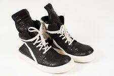 Rick Owens Geobasket Baskets Hi-top Baskets Taille 45 geobaskets Paillettes Chaussures