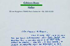 Jean-Edern Hallier s'adresse à François Mitterrand pendant l'entre-deux tours