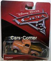 Disney Pixar Cars 3 Smokey der legendäre Hudson Pick Up Mattel 2016 NEU & OVP