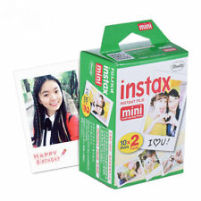 US Instax Photo Film Mini Paper Edge Instant Sheets 20 Original Polaroid 8 7s