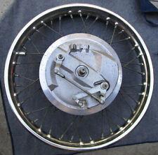 Vintage Triumph Bsa Motorcycle Front Wheel 1969 1970 Bonneville T120 Tr6 Trophy