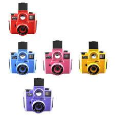 Holga 120 120GTLR TLR Film Camera Medium Format Twin Lens Reflex Red blue yellow