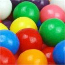 ONE LB POUND BAG DUBBLE BUBBLE 1 INCH / 25.4MM GUMBALLS BULK CANDY WHOLESALE