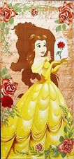Beauty and the Beast - Belle Beach Towel measures 28 x 58 inches
