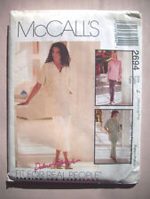 Front wrap V-neck top pull on pants pattern 2694 size 12-14 16-18 20-22