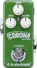 New TC Electronic Corona Mini Chorus Guitar Effects Pedal!