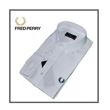 Camicia Fred Perry Originale 100%  Taglia L Colore Bianco