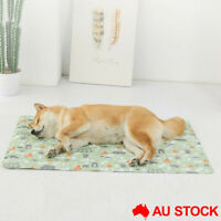 Pet Cool Gel Mat Nest Ice Cat Dog Bed Waterproof Cooling Pad Summer AU Stock