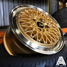 "Autostar MINUS 15"" x 7.5"" 4x108 et25 alloys fit Peugeot 205 206 306 etc"