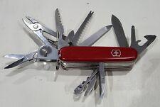Victorinox - SwissChamp w/ Leather Pouch - Swiss Army SAK - Multi-Tool - 53501