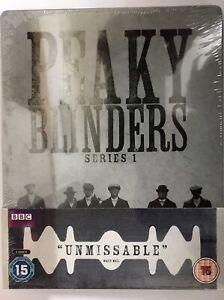 Peaky Blinders Series 1 Steelbook Blu-Ray Ltd Ed to 2000 Season 1