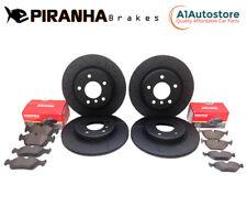 Front Rear Brake Discs Pads Audi TT MK3 2.0 TFSi 2.0 TFSi Quattro 230bhp 10//14