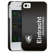 Apple iPhone 4 Premium Case Cover - Schrift weiß