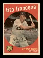 1959 Topps Set Break # 268 Tito Francona VG-EX *OBGcards*