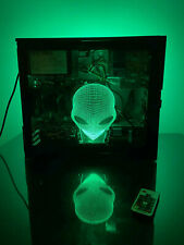 HUGE GAMING BUNDLE! 3D Alien Dell PC i5 GT1030 8GB 1TB +MOUSE+KB+HEADSET+MONITOR