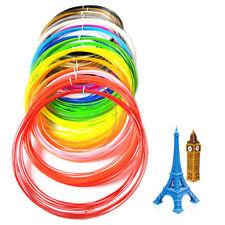 20pcs 3D Printer Pen Filament Refill 1.75mm 20 Color Filament for 3D Printing