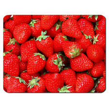 Strawberry COLLAGE Fruit Food Funny Gift Sweets Tennis PC Computer Mouse Mat Pad