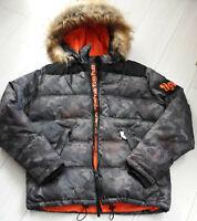 Tigha  Herren Winter Jacke Kleist spray camouflage Size L
